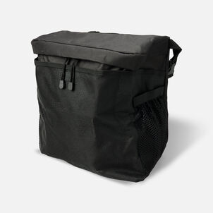 """Homecare Products Wheelchair Carry On Pouch 15"""" L x 15"""" x 5"""" H, Black, Nylon"""