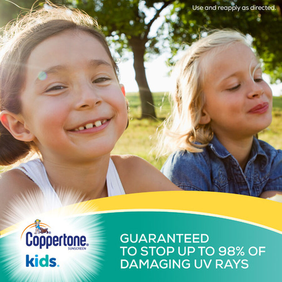 Coppertone Kids Sunscreen Spray SPF 50, Twin Pack, 5.5 oz each, , large image number 3