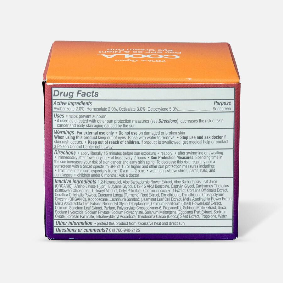 Coola Full Spectrum 360° Day SPF 30 & Night Organic Eye Cream Duo, , large image number 2