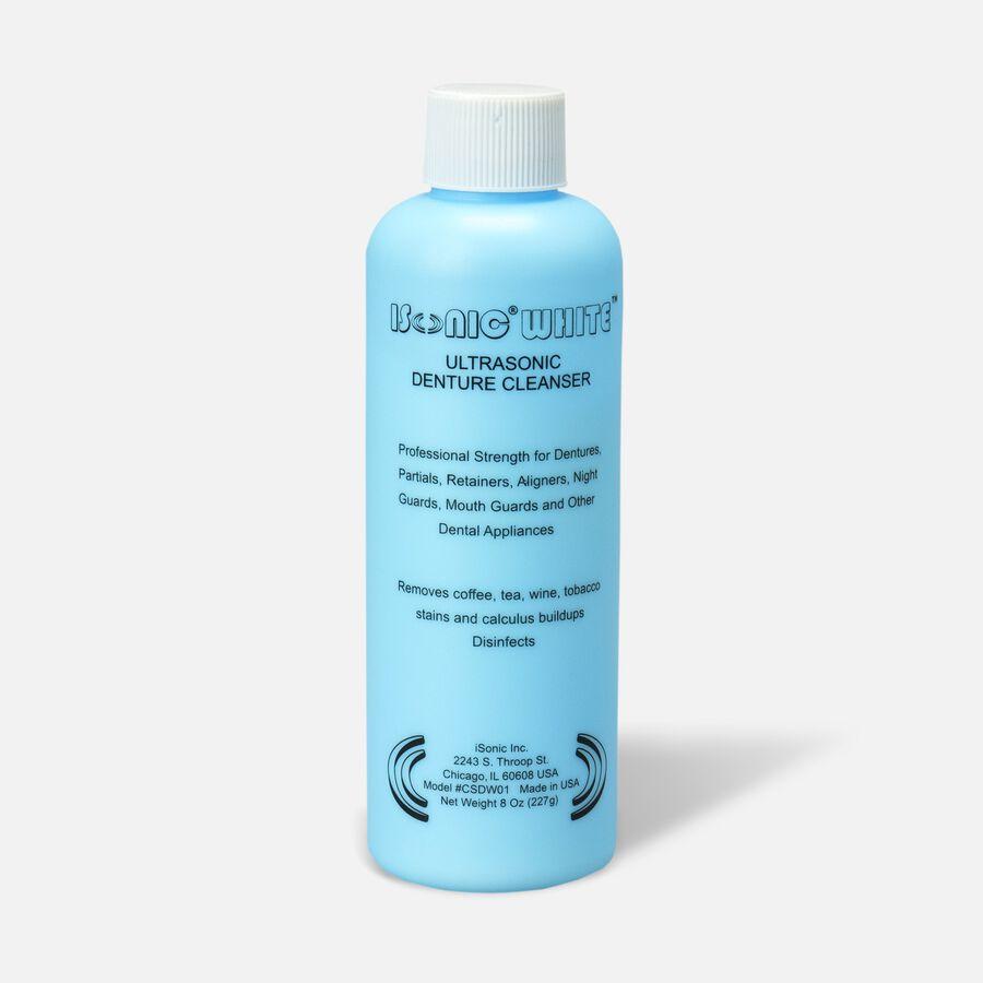 iSonic White Ultrasonic Denture Cleaning Powder, , large image number 0