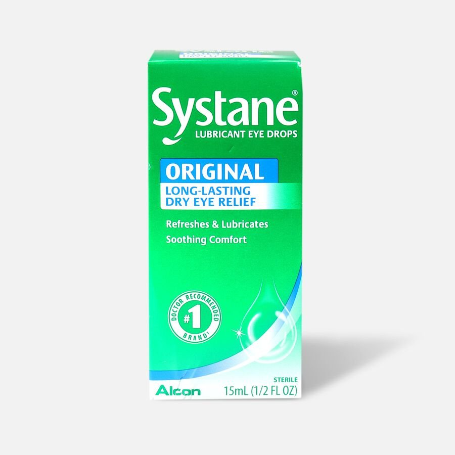 Systane Lubricant Eye Drops, 15 mL, , large image number 0