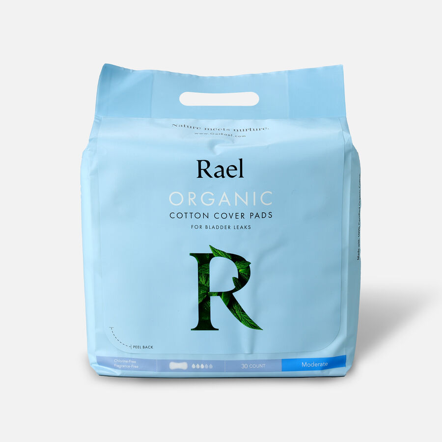 Rael Organic Cotton Cover Pads for Bladder Leaks, , large image number 3