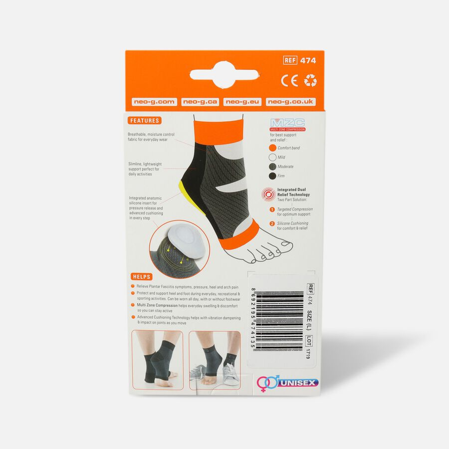 Neo G Plantar Fasciitis Everyday Support, Large, , large image number 1