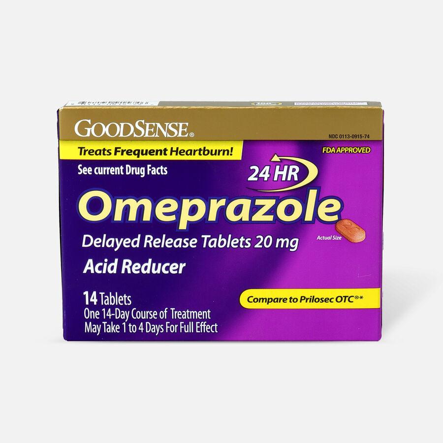 GoodSense® Omeprazole Delayed Release Tablets 20 mg, Acid Reducer, , large image number 0