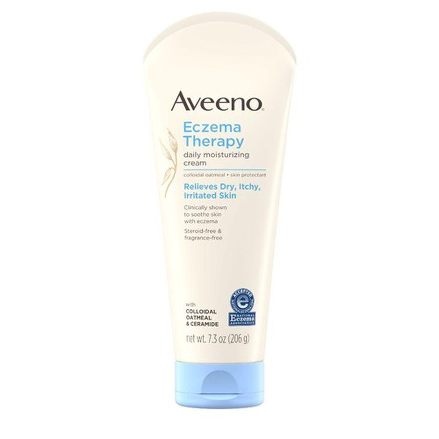 Aveeno Eczema Therapy Daily Moisturizing Cream, , large image number 0