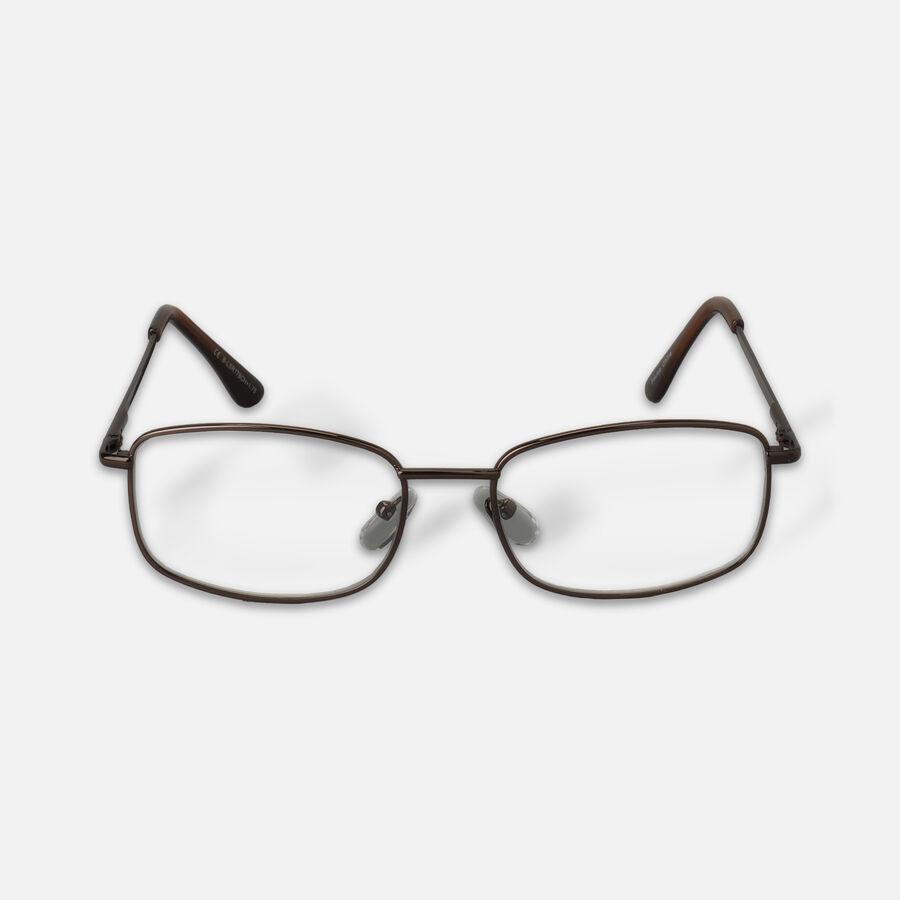 Today's Optical Black Chrome Reading Glasses, +1.75, , large image number 0