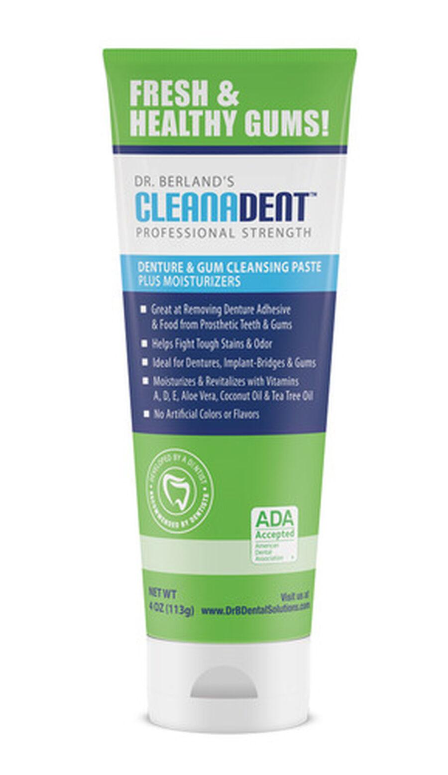Dr. B Dental Solutions Denture & Gum Cleansing Paste - 4oz, , large image number 3