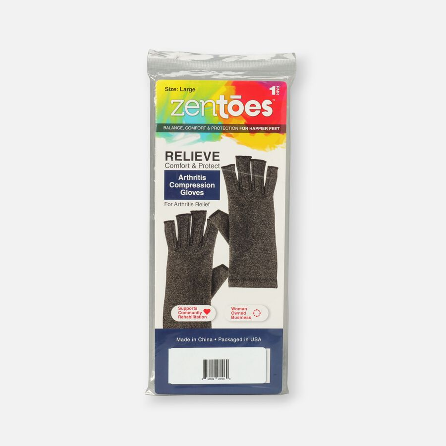 ZenToes Arthritis Compression Gloves, 1 pair, , large image number 0