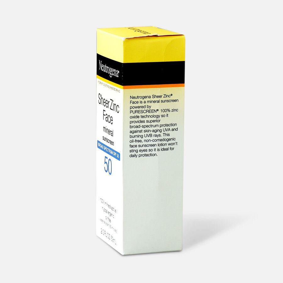 NEUTROGENA SHEER ZINC™ Face Dry-Touch Sunscreen Broad Spectrum SPF 50, 2 Fl. Oz., , large image number 4