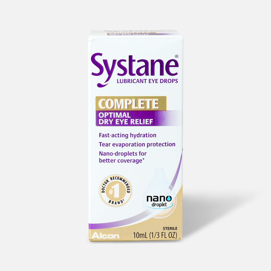 Systane Complete Eye Drops, 10 mL, , large image number 0