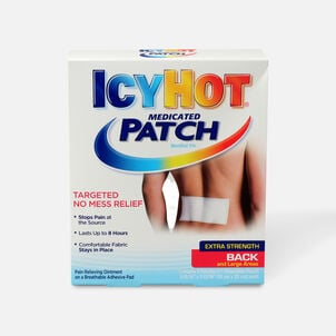 Icy Hot Medicated Back Patch, 5 ct.