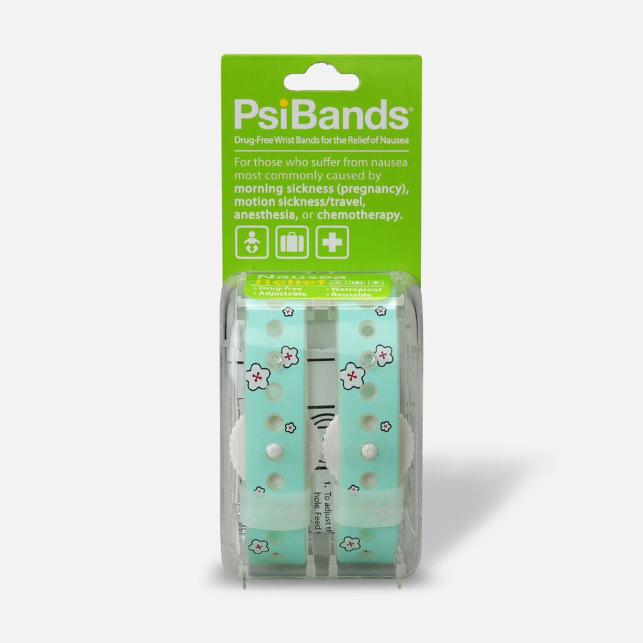 Psi Bands Nausea Relief Wrist Bands - Cherry Blossom, , large image number 0