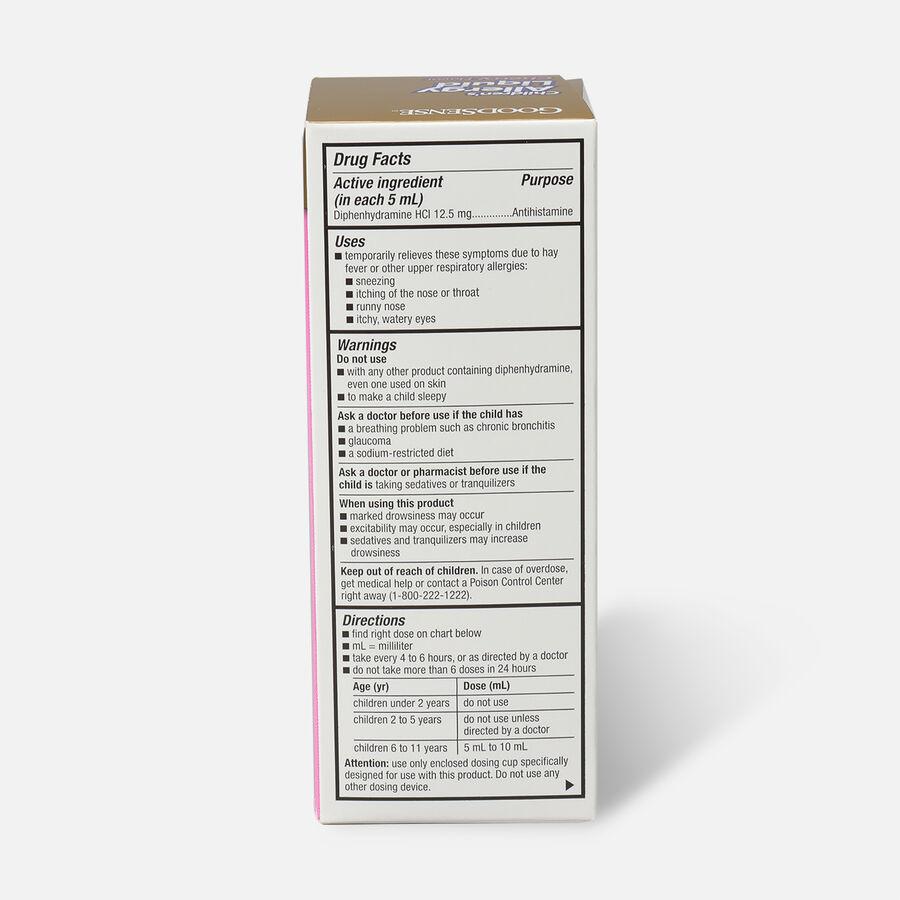 GoodSense® Children's Allergy Liquid for Allergy Relief, Cherry Flavor, 4 fl oz, , large image number 1