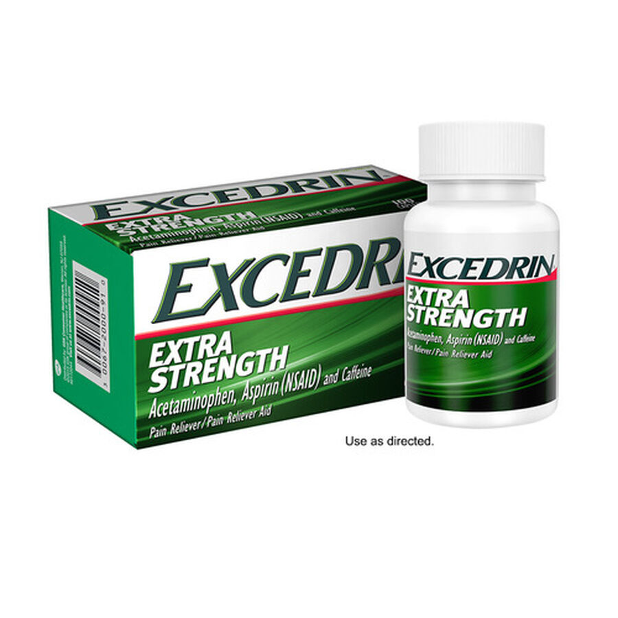 Excedrin Extra Strength Caplets, 100 ct, , large image number 3