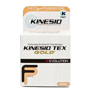 Kinesio Tape, Tex Gold Wave, Beige, 2 in x 16.4 ft.