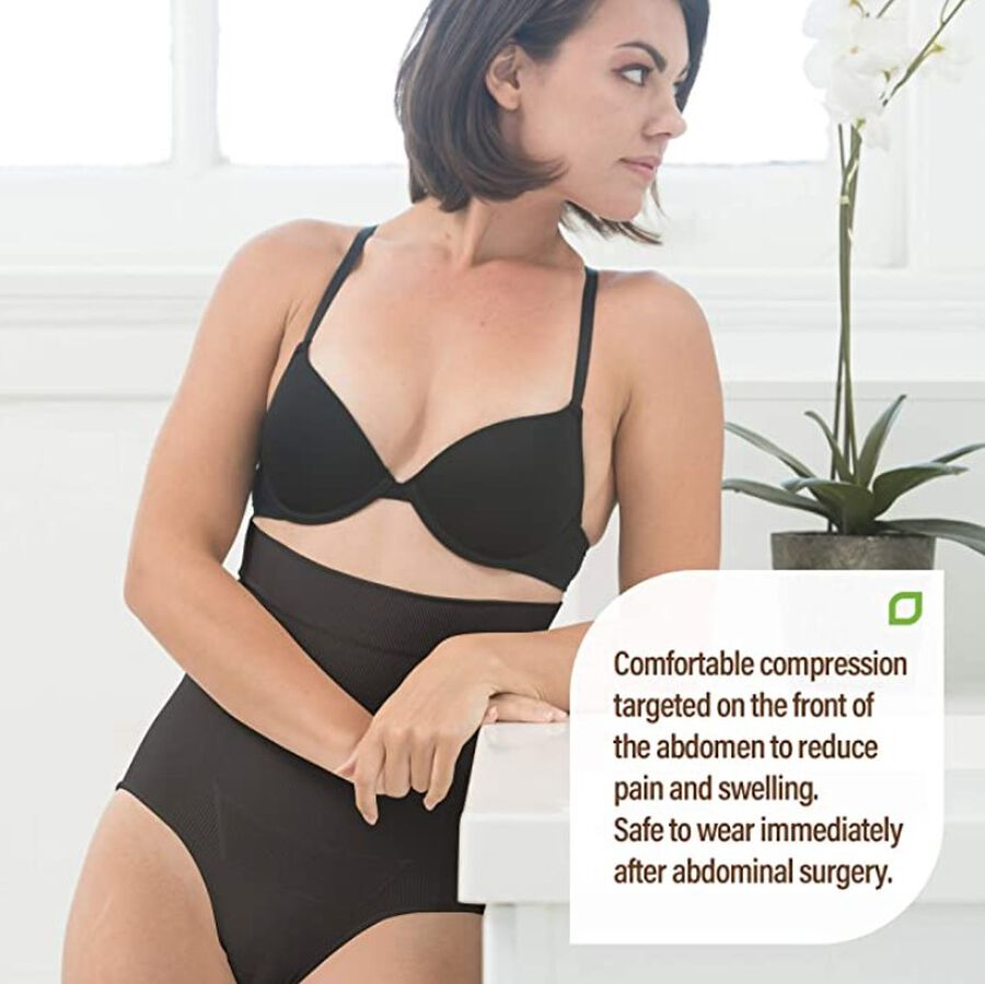 UpSpring C-Section Recovery Panty Plus Incision Care, Black, , large image number 4