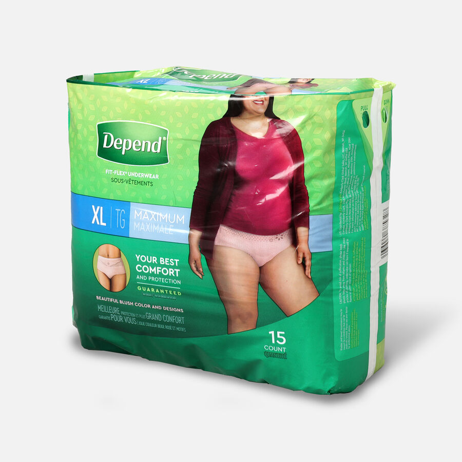 Depend Fit-Flex Max for Women, , large image number 3