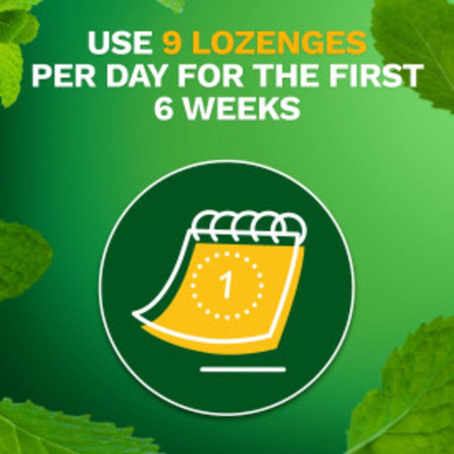 Nicorette Mini Nicotine Lozenges, Mint, 2mg, 81 ct, , large image number 12