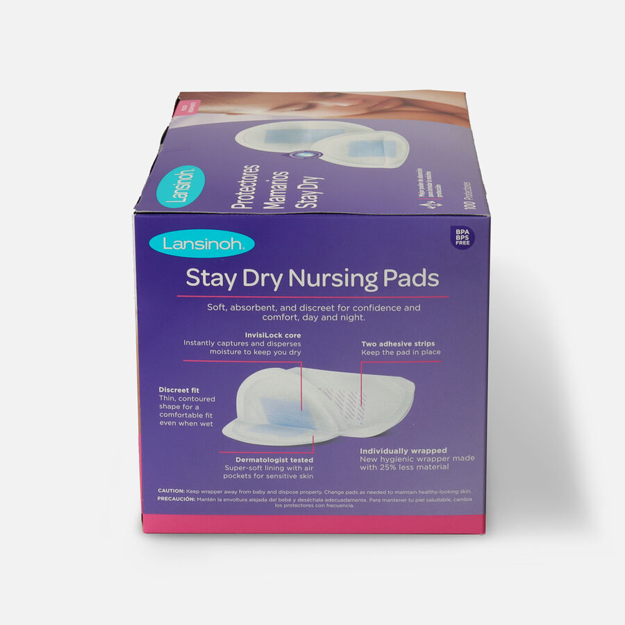 Lansinoh Disposable Nursing Pads, , large image number 1