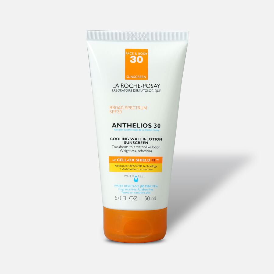 La Roche-Posay Anthelios SPF 30 Cooling Water Sunscreen Lotion, 5 fl oz, , large image number 0