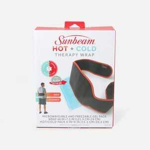 Sunbeam Hot + Cold Therapy Back Wrap With Gel Pack
