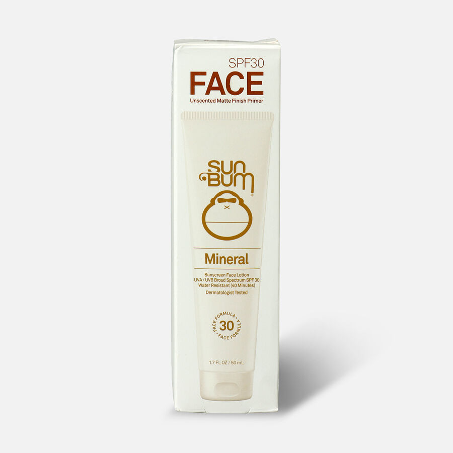 Sun Bum Mineral SPF 30 Sunscreen Face Lotion, 1.7oz, , large image number 0
