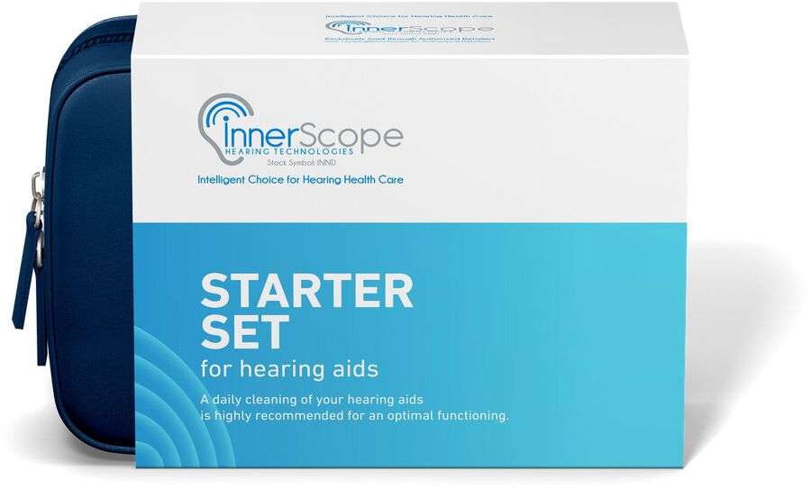 InnerScope Hearing Technologies Hearing Product Cleaning Starter Kit, , large image number 1