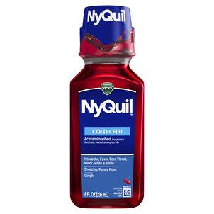 Vicks NyQuil Cold & Flu, Cherry