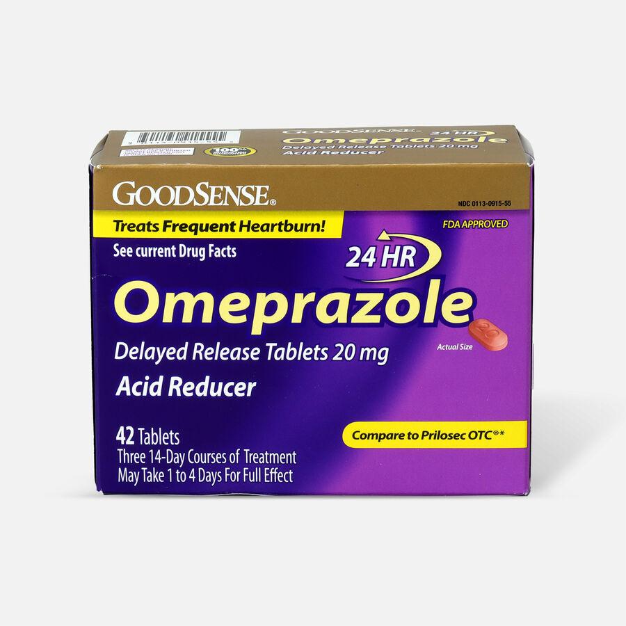 GoodSense® Omeprazole Delayed Release Tablets 20 mg, Acid Reducer, , large image number 3