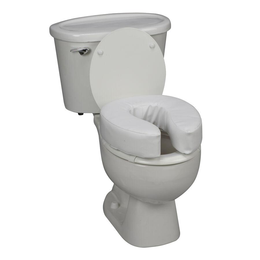 "DMI® 4"" Vinyl Cushion Toilet Seat, , large image number 1"