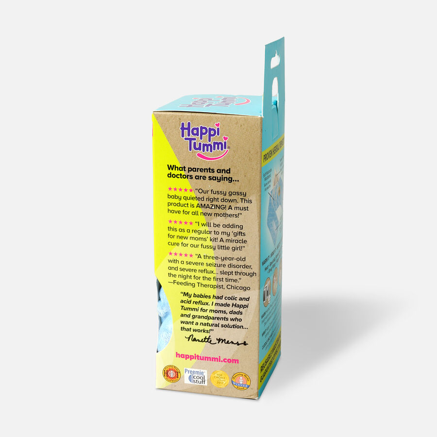 Happi Tummi Colic and Gas Relief Herbal Waistband, Minky Dot, , large image number 2