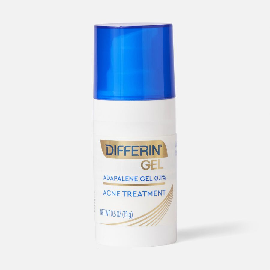 Differin 0.1% Adapalene Treatment Gel with Pump, , large image number 1