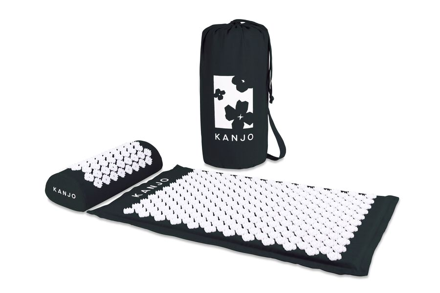 Kanjo Memory Acupressure Mat Set with Pillow, Onyx, , large image number 6