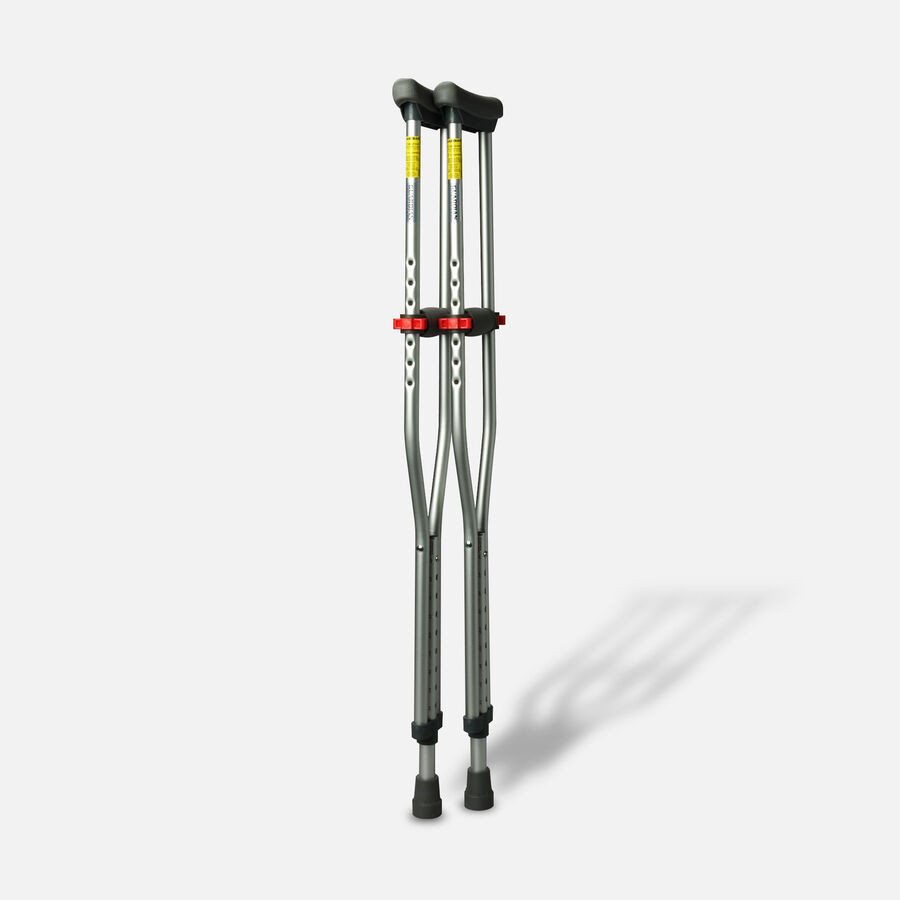 Medline Red Dot Button Crutches - 1 Pair, , large image number 5