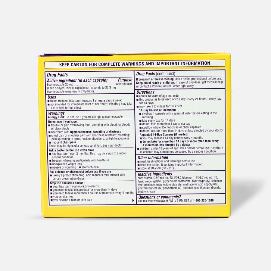 Nexium 24HR Capsules, 42 ct, , large image number 1