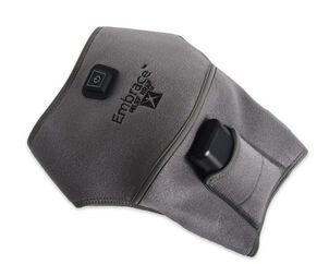 Battle Creek Embrace ™ Relief Shoulder Wrap – Portable, 3 Temperature Settings, Auto Shut Off, Wireless & Rechargeable Wrap, Battery-Operated Heat Therapy Wrap for Rotator Cuff and Shoulder Pain Relief