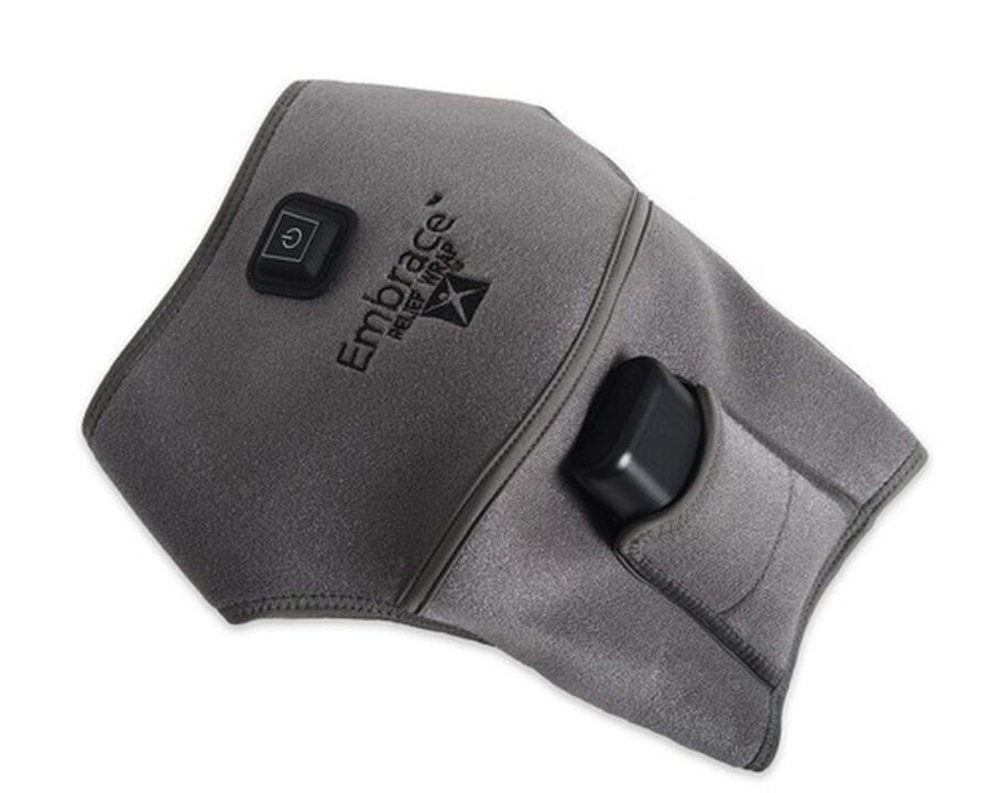 Battle Creek Embrace ™ Relief Shoulder Wrap – Portable, 3 Temperature Settings, Auto Shut Off, Wireless & Rechargeable Wrap, Battery-Operated Heat Therapy Wrap for Rotator Cuff and Shoulder Pain Relief, , large image number 0