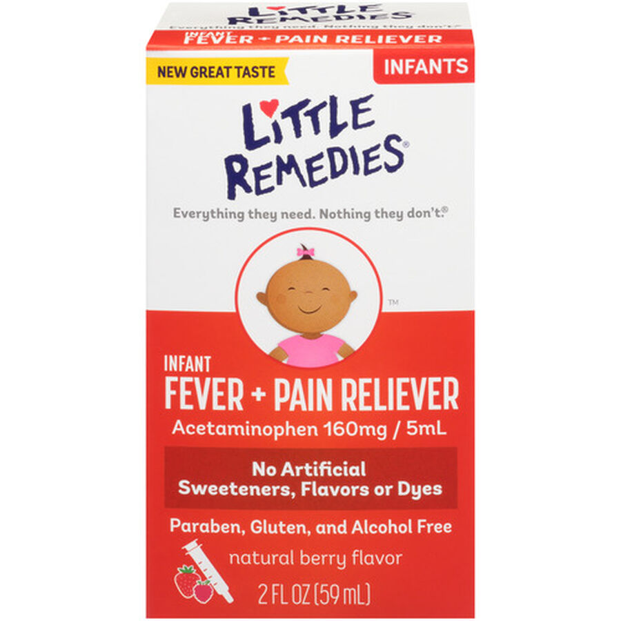 Little Fevers Infant Fever & Pain Reliever, 2 oz, , large image number 0