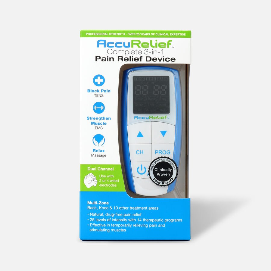 AccuRelief Complete 3-in-1 Pain Relief Device, , large image number 0