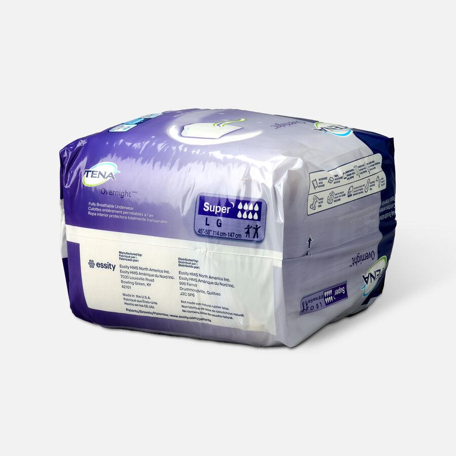 "TENA Protective Underwear, Overnight Super, Medium 34""- 44"", , large image number 2"