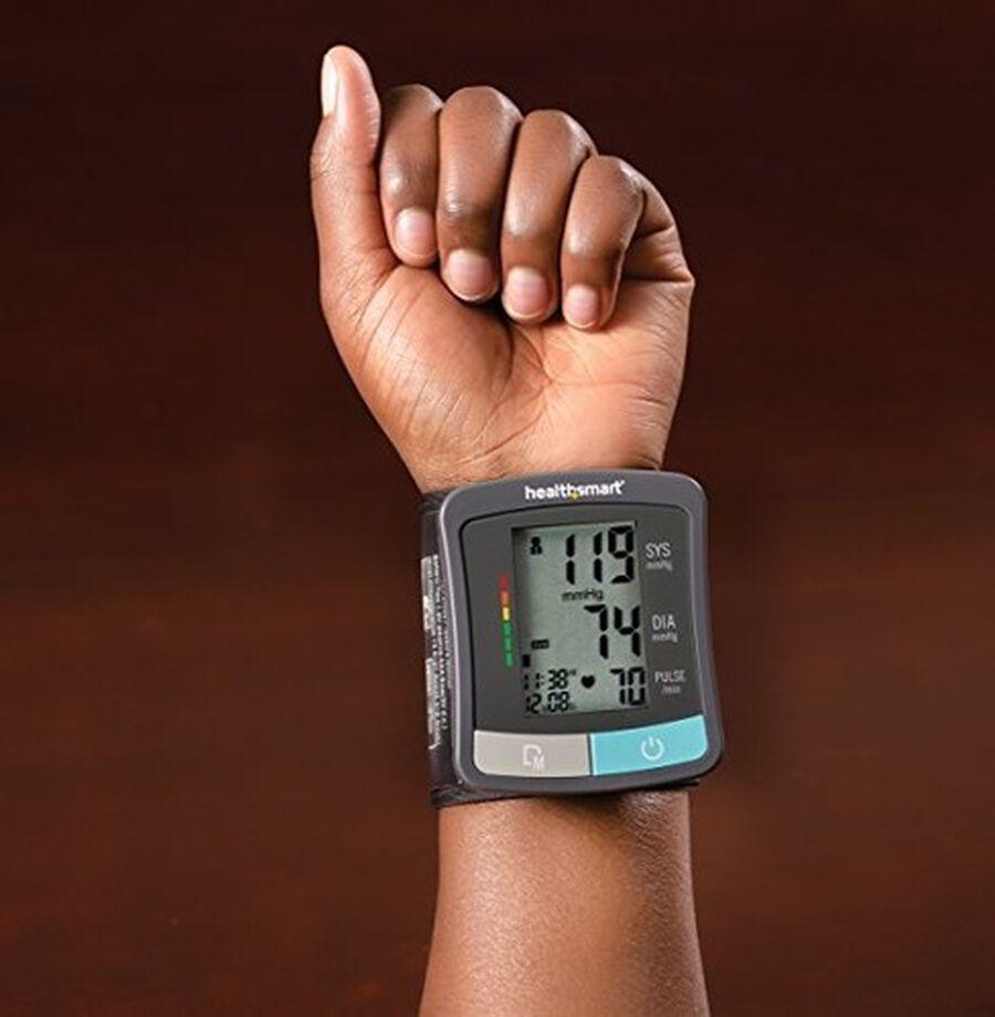HealthSmart Standard Series LCD Wrist Digital Blood Pressure Monitor, , large image number 10