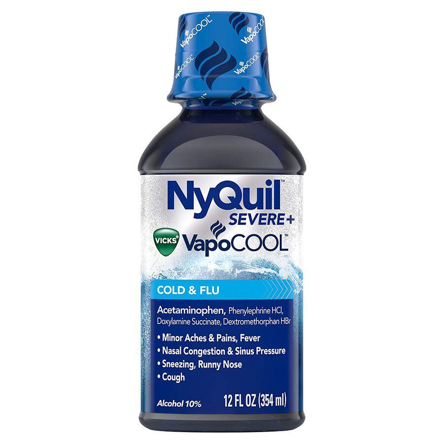 Vicks NyQuil Vapocool Liquid, 12 oz, , large image number 0