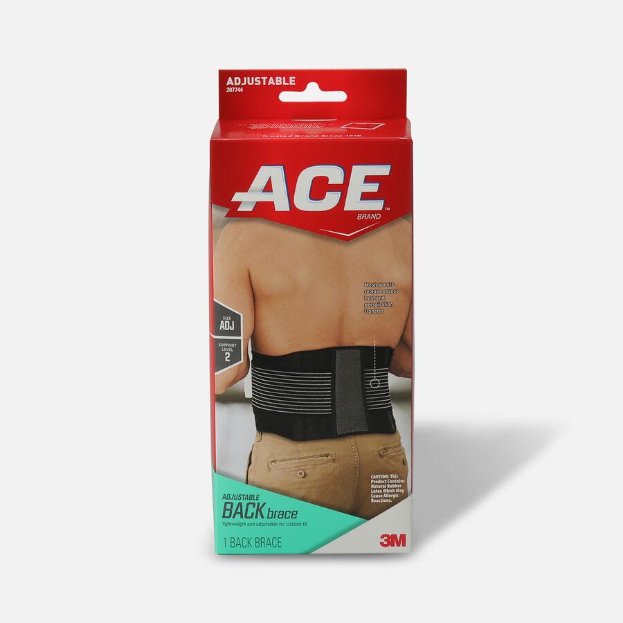 ACE Adjustable Back Brace, , large image number 0