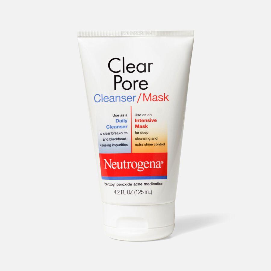 Neutrogena Clear Pore Cleanser / Mask, 4.2oz, , large image number 0