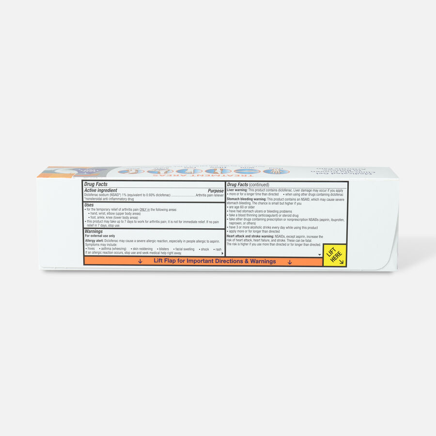 Voltaren Arthritis Pain Gel, 5.29 oz, , large image number 1