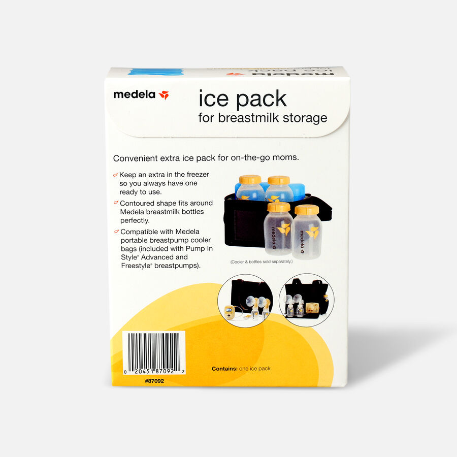 Medela Ice Pack for Freestyle® and Pump In Style® Advanced Breast Pump Coolers, , large image number 1