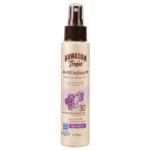 Hawaiian Tropic Antioxidant+ Sunscreen Mist SPF 30, 3.4oz.