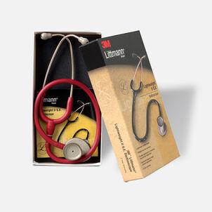 "3M Littmann Lightweight II S.E. Stethoscope, Burgundy Tube with Standard Finish, 28"""