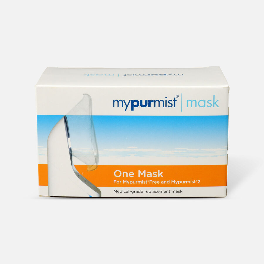 Mypurmist Free Steam Inhaler Replacement Mask, , large image number 0