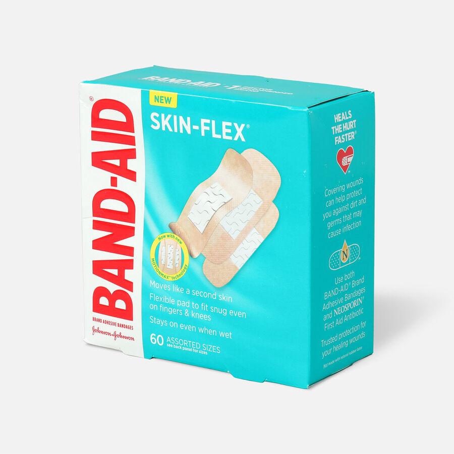 Band-Aid Skin-Flex Adhesive Bandages, Assorted Sizes, 60ct, , large image number 2
